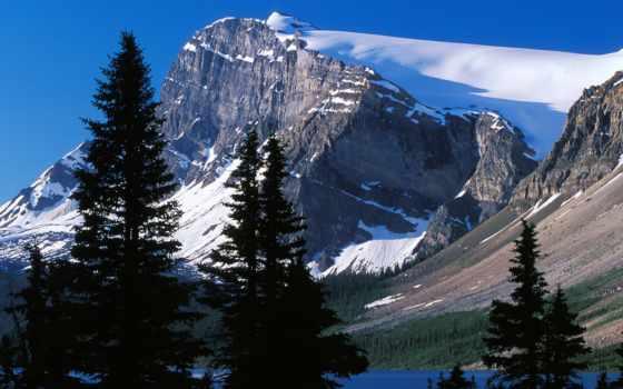 гора, канаде, горы