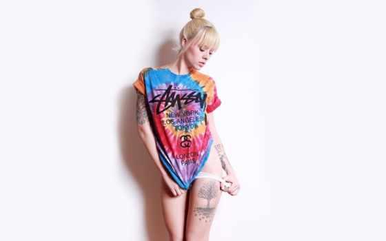 stussy, dye, tie, рубашка, world, тур, tee,
