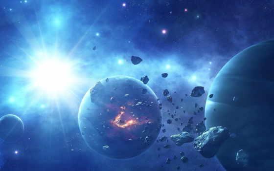 art, планеты, яркая, звезды, star, cosmos, астероиды,