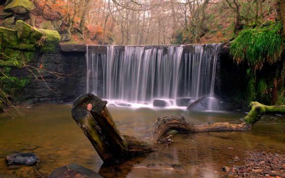 водопад, река Фон № 32233 разрешение 1920x1080