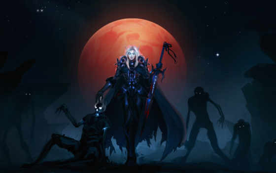 warcraft, world, wow, нежить, рыцарь, воин, страница,
