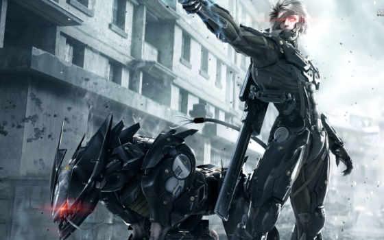 металл, cyberpunk, gear, видим, установленные, первое, getbg, revengeance,