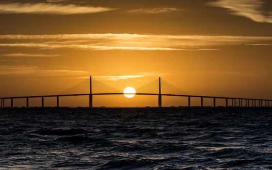 sunsets, море, закат,