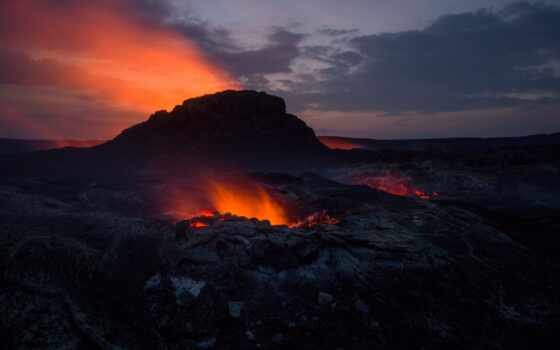 вулкан, лава, огонь, камчатка, samsing, galaxy, sony, xper