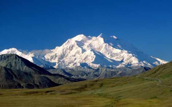 гора, кинли, poppy, северной, denali, находится, высочайшая, аляске, парке, национальном,