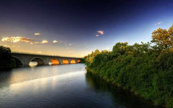мосты, природа, hành, water, cánh, thiên, nhiên,