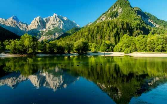 summer, летом, озеро, изображения, горы, зелёный, стоковые, рѕр, зеленые, mountains,