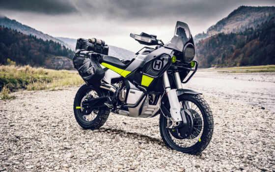 husqvarna, norden, concept, adventure, свинья, мотоцикл