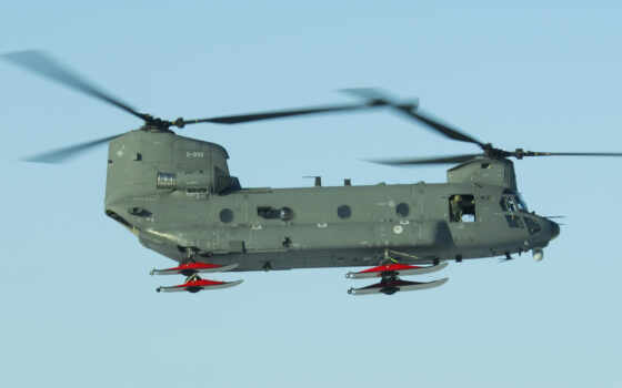 chinook, вертолет, chỉ, военный, транспорт,