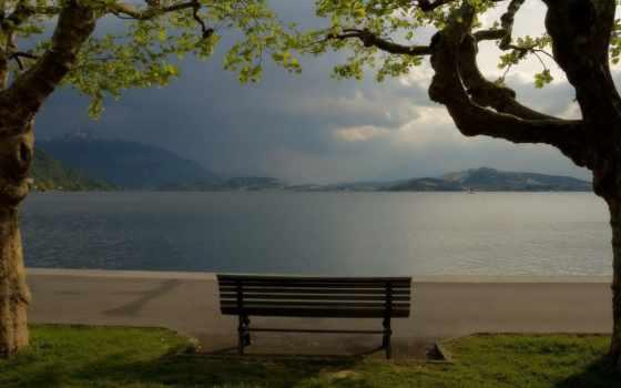 озеро, природа, магазин, удивительные, планеты, красивая, самые, трава, нашей, скамейка, снимки,