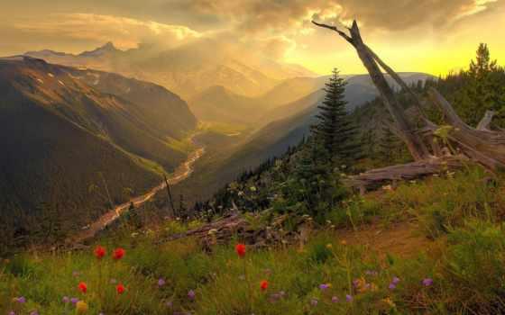 rainier, mount, гор, места, красивые, washington, сша, природа,
