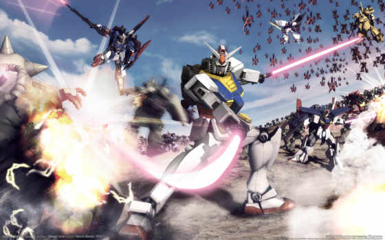 gundam, warriors