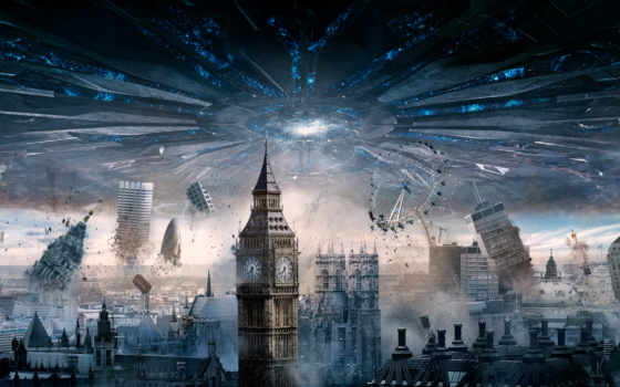 день, london, spaceship, independence, resurgence,