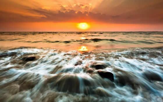 природа, закаты, sun