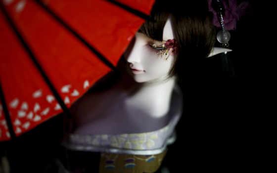 bjd, doll, кимоно, deviantart,