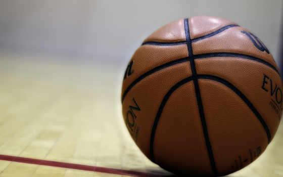 мяч, баскетбол, спорт, пол,