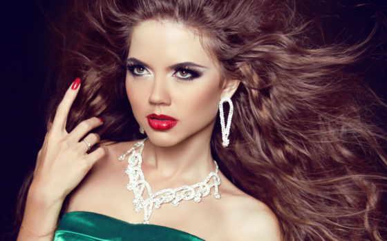модель, макияж, девушка