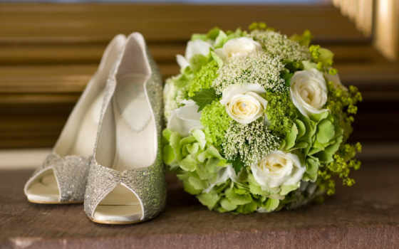 букет, свадебный, невесты, туфли, свадебные,