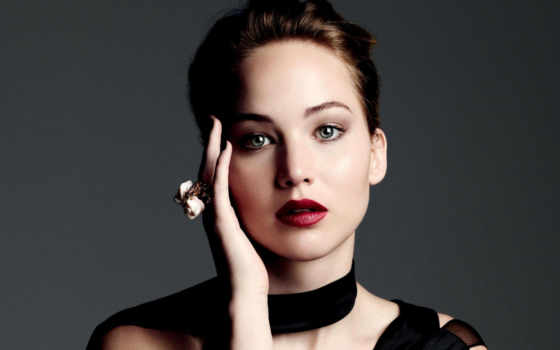 lawrence, jennifer, макияж, девушка, актриса, лицо, обложке,