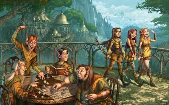fantasy, стиле, elfy, юмор, яndex, иллюстрации, коллекциях,