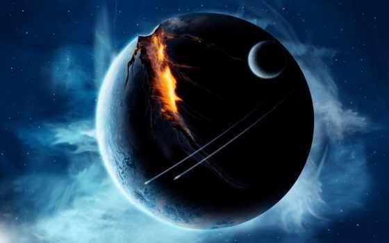 cosmos, планеты, широкоформатные