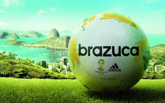 мяч, brazuca, adidas