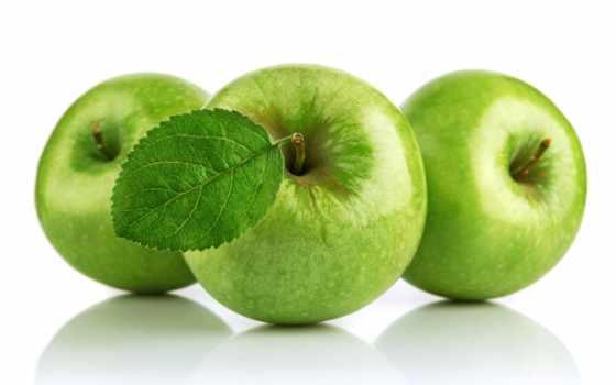 яблоки, зеленые, white, фрукты, apples, снятся, чему,