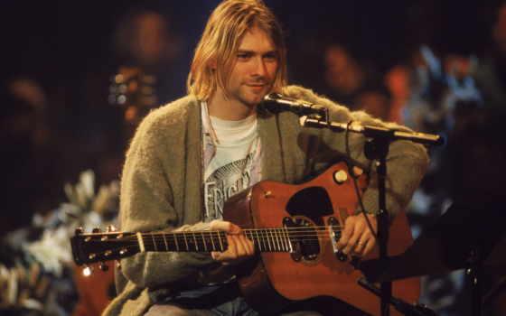 cobain, kurt, микрофон, nirvana, музы