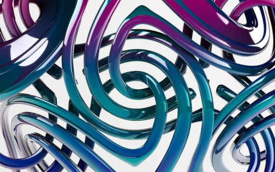 абстракция, стеклянное