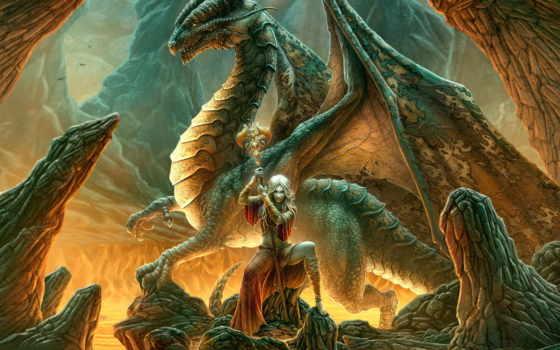 fantasy, dragon