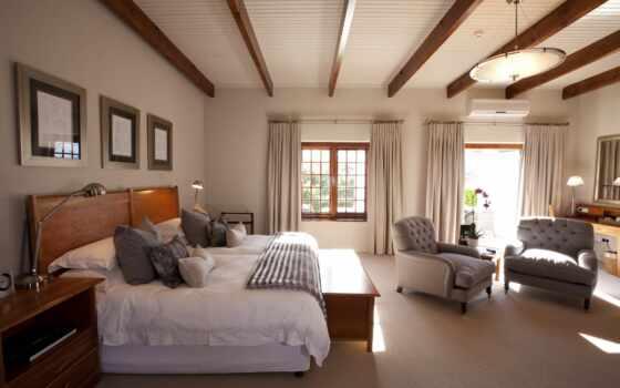 гостиница, спальня, номер