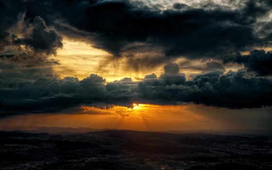 небо, природа, oblaka