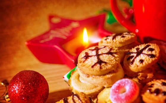 cookie, new, радость, candy, christmas, free, сладость, реклама, знамя, коллекция