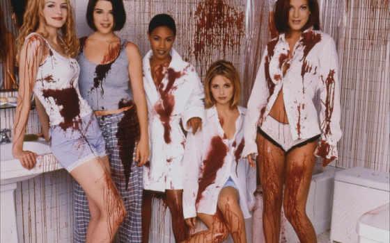 scream, sarah, gellar, michelle, её, чтобы, крик, барышня, lingerie, film, girls, обоями, картинку, развратной, просмотреть, девушки, реальном, размере,