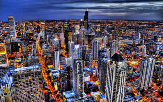 chicago, city