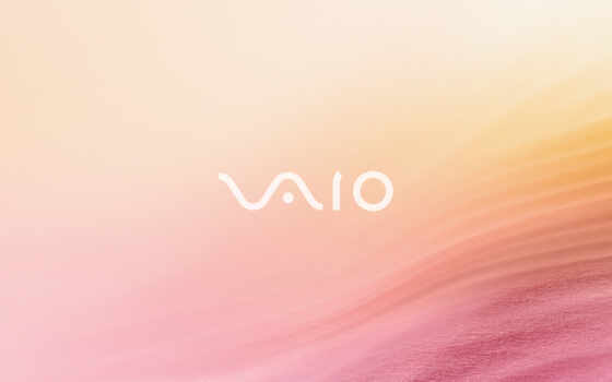 sony, vaio, logo, notebook, wave, pink, sand