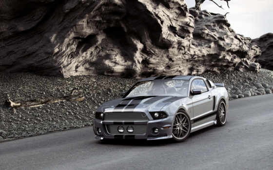 кар, muscle, mustang