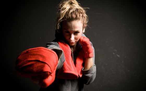 бокс, devushki, женское