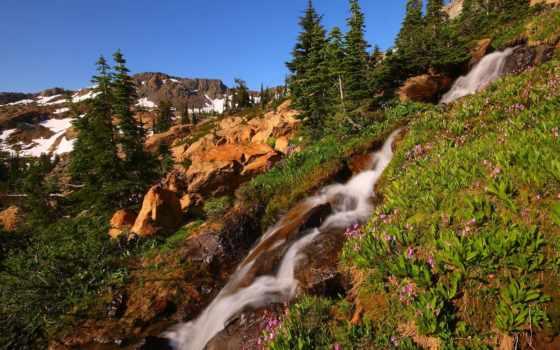 природа, горы, landscape, камни, ручей, картинка, парки, cry, камень,