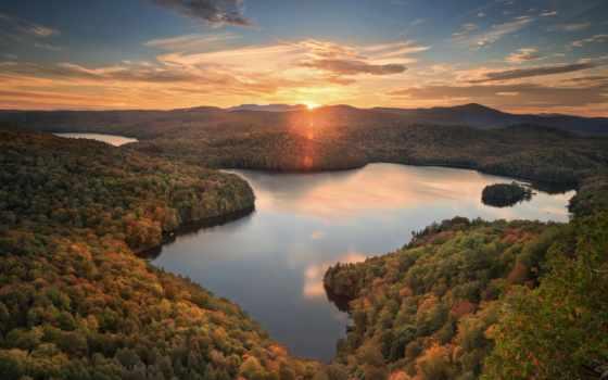vermont, пруд, nichols, woodbury, lago, photos, вудбери, images, панорама, озеро,