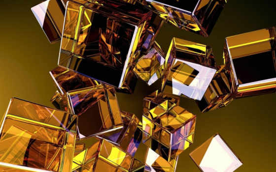 кубики, glass