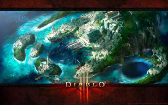diablo, iii Фон № 28060 разрешение 1920x1080