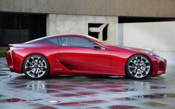 lexus, concept, красный лексус, спорткар,