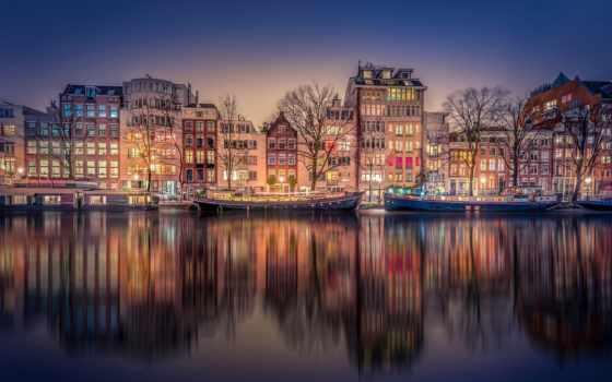 amsterdam, ночь, нидерланды, more, save, see, об, pinterest,
