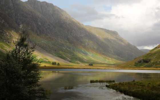 природа, шотландия, великобритания