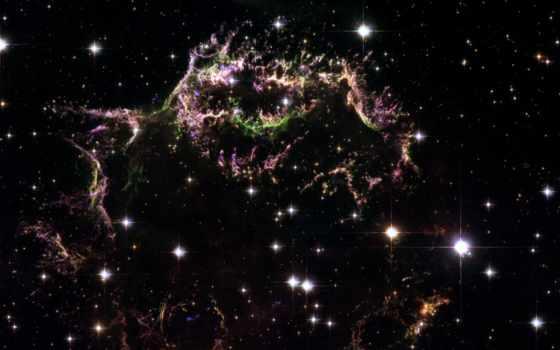 хаббл, nebula, cassiopeia, stars, space, телескопом, телескоп, звезды, planam, этот, уменьшить, деталей, чтобы, узлы, волокна, xybix, кликните, газовые, увечичить, видно, туманности, крабовидной, сним