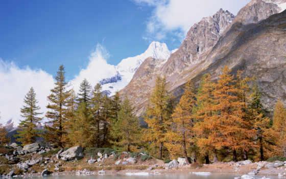аляска, природа, montañas