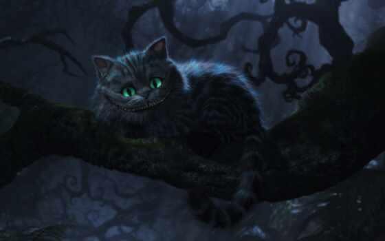 кот, чеширский, алиса, февр,