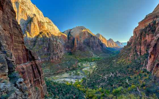 national, park, природа, zion, горы, каньон, solidworks,