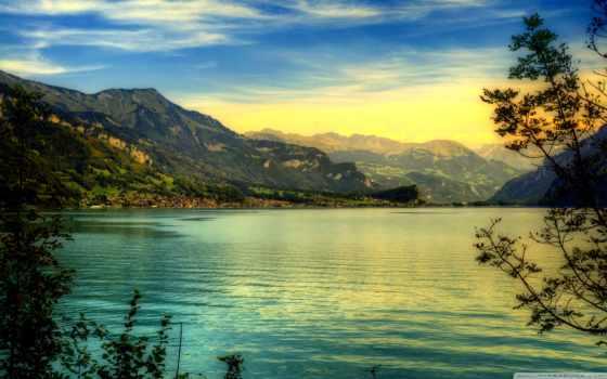 горы, озеро, озера, reki, природа, бирюзовое, горах, landscape,